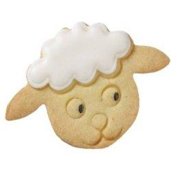 画像1: ドイツ/BIRKMANN クッキー型(ステンレス) 羊の顔