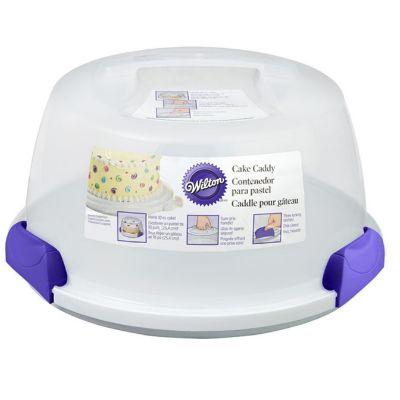 ƌ�ち運びできるプラスチックケーキボックス Wilton