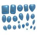 アメリカ製/シュガークラフトシリコン抜き型/小さな宝石たち