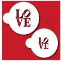 Mサイズ/ステンシルセット LOVE文字 2種類