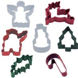 画像1: お買得カラークッキー型セット クリスマスアイテム 7種類