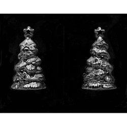 画像1: クリスマスセール品/3Dチョコレート型 クリスマスツリー(スターオーナメント付)