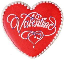 画像2: Mサイズ/ステンシルセット Valentineデザインハート 3種類