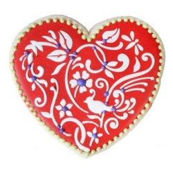 画像3: Mサイズ/ステンシルセット Valentineデザインハート 3種類