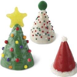 画像3: クリスマスセール品/Wilton 3Dケーキシリコン抜き型 ミニコーン 24個取り