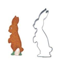 画像1: ドイツ/Stadter(ステンレス) クッキー型 立っているウサギ