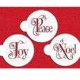 画像2: Mサイズ/ステンシルセット Noel/Joy/Peace 3種類 (2)