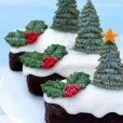 画像3: イギリス製/シュガークラフトシリコン型 クリスマスツリー 3種類 (3)