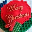 画像1: イギリス製/シュガークラフトシリコン抜き型/ミニプラグ メリークリスマス (1)