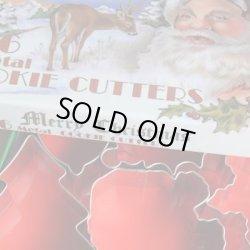 画像2: クリスマスセール品/お買い得クッキー型セット メリークリスマス