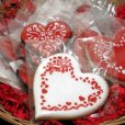 画像2: Mサイズ/ステンシルセット バレンタインハート 3種類 (2)