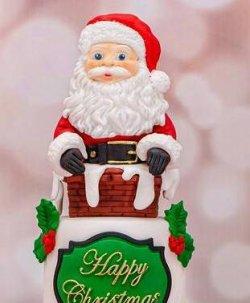 画像4: イギリス製/シュガークラフトシリコン抜き型 サンタの顔