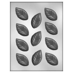 画像1: チョコレート型 葉っぱ 大